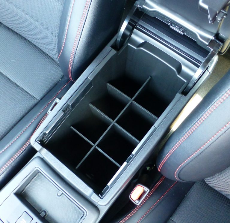 SLX106 Vehicle OCD Toyota Camry center console organizer installed